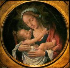 Virgen con el Niño, de maestro anónimo, en Toledo