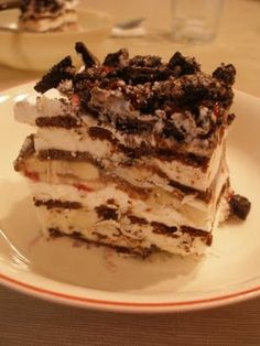 Thy Hand Hath Provided: Search results for ice cream sandwich cake with bananas