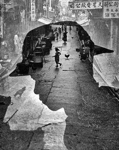 Fan Ho is not well known in the western photography world,but his images phenomenal. He shot the streets of Hong Kong when he was only 21 and later went. Western Photography, Fishing Photography, City Photography, Photography Degree, Classic Photography, Experimental Photography, Candid Photography, Photography Camera, Documentary Photography