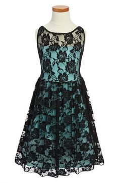 Ruby Rox Sleeveless Lace Dress (Big Girls) | Nordstrom