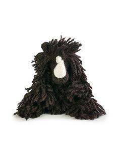 Crochet Woolly Rhino Amigurumi Pattern: British wool DK rhino from Edward's Menagerie by Kerry Lord.