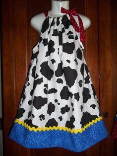 3c05e68731b Cowgirl Dress Disney Jessie Toy Story birthday by GinaBellas1