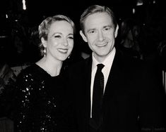 Honestly they were otp and my heart hurts knowing they are no longer together. I Have A Crush, Having A Crush, My Heart Hurts, It Hurts, Amanda Abbington, Martin Freeman, Best Couple, Benedict Cumberbatch, Sherlock Holmes