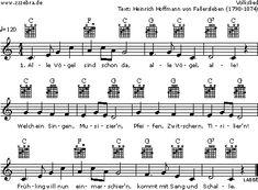 Alle Vögel sind schon da - Kinderlieder und Singspiele   Labbé Verlag