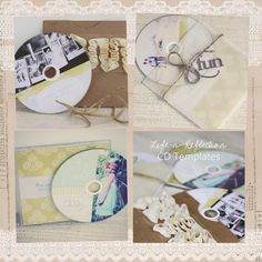 make beautiful photo cds & packaging