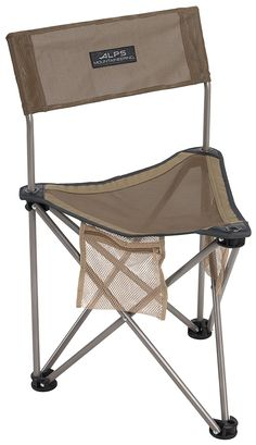 Trespass Adults Polyester with Steel Frame Bucket Camping Chair Blue