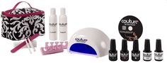 COUTURE Gel Nail Polish - Deluxe Gel Nail Polish Kit, $129.00 (http://www.couturegelnailpolish.com/products/68-after-midnight.html)