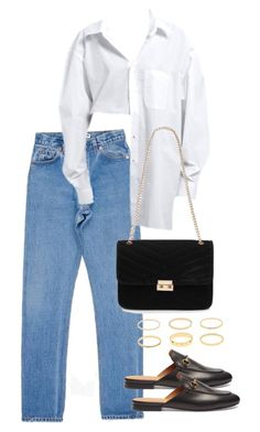 """Untitled #5482"" by theeuropeancloset on Polyvore featuring Red Herring and Gucci"