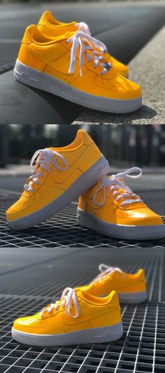 d9de2695162 Nike Air Force 1 Sunset Yellow