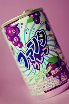 Japanese Soda (Fanta Grape)