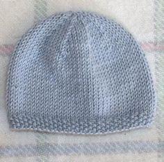 for kids newborns Hand Knitted Baby Hat / Newborn Hand Knit Baby Hat / Baby Boy - Knitting Ideas Baby Hat Knitting Patterns Free, Baby Boy Knitting, Knitting For Kids, Knit Patterns, Free Knitting, Crochet Pattern, Free Pattern, Sombrero A Crochet, Baby Boy Hats
