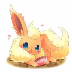 Pareceu a Kurama Pokemon Fan Art, Pokemon Comics, My Pokemon, Pokemon Flareon, Pokémon Kawaii, Kawaii Anime, Cute Pokemon Pictures, Pokemon Images, Manga Pokémon