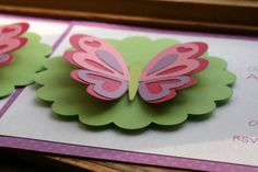 KT Designs: Birthday Series: Butterfly Birthday Party Invitations