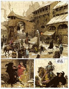 thorgal comic pages - Google Search