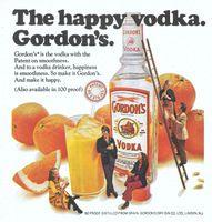 Gordon's Vodka 1975 Ad Picture
