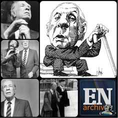 Jorge Luis Borges, escritor argentino.  Fotos (ARCHIVO EL NACIONAL)