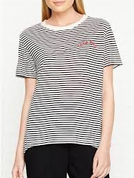2f1ce7bae50 Image result for Whistles Tres Bon Embroidered T-Shirt