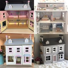 Before and after on Norah's little doll house. This was a very fun project! #dollhousereno #dollhousefurniture #dollshousedecor #dollhouseminiatures #dollhouse #mummymakes #mummycrafts