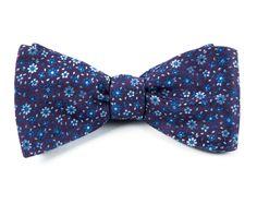 MILLIGAN FLOWERS BOW TIES - LIGHT PURPLE | Ties, Bow Ties, and Pocket Squares | The Tie Bar