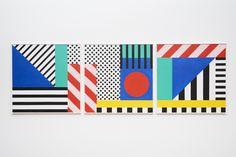 London Design Festival | Camille Walala bold graphic prints | www.bobocadolobo.com | #bocadolobo #design #decorex
