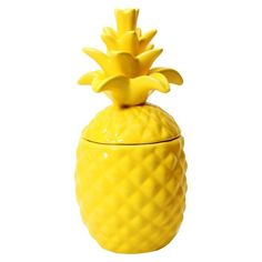 Painted in gold!!!! Pintada en oro!!!   Fashionable Fruits Pineapple Candle Pineapple Coconut - 10.4 oz -TARGET