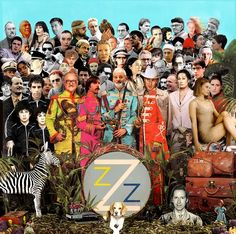Sgt. Pepper's done Wes Anderson style.