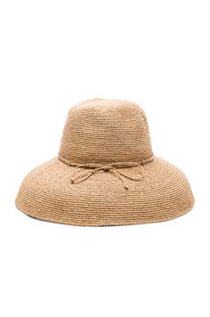 Image 1 of Helen Kaminski Provence 12 Hat in Nougat Helen Kaminski edbdb13a3de9