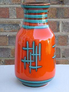 Carstens Tönnieshof West German Pottery Vase