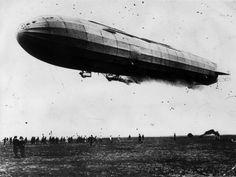 German naval zeppelin 1914: The L2, a German naval zeppelin during World War I