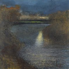 Buscot twings. Thames meander and birdsong 2013 in KURT JACKSON from The Redfern Gallery