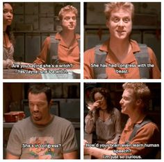 Firefly. This show is amazing. If only Fox gave it a chance and actually had a set day and time. Never knew when it was going to be on