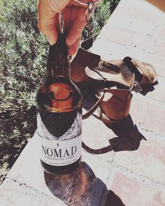 After a little morning @pentictonfarmersmarket wandering and an adventure to @far_out_orr #casadifuego like a nomad I'm back home shoes off in the sun to have my first experience of @nomadcider.... You do #Summerlandia proud Nomad! As beautiful on the inside as the outside