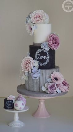 Featured: Cotton and Crumbs - Wedding Cake Inspiration Cool Wedding Cakes, Beautiful Wedding Cakes, Gorgeous Cakes, Wedding Cake Designs, Pretty Cakes, Amazing Cakes, Wedding Cupcakes, Cupcake Torte, Cotton And Crumbs