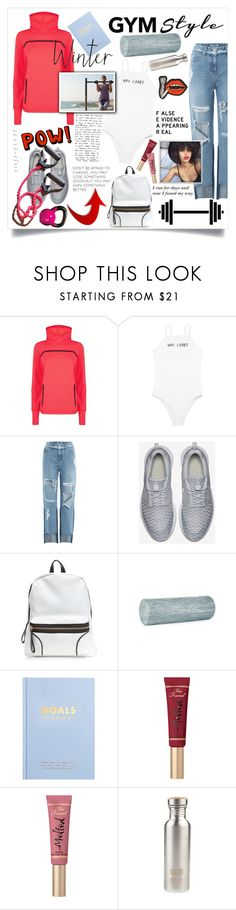 """Sweatybetty"" by lseed87 ❤ liked on Polyvore featuring Sweaty Betty, SJYP, NIKE, kikki.K, Too Faced Cosmetics and Olympia Le-Tan"