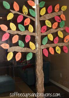 Thankfulness Tree-Great Thanksgiving Kid's Craft