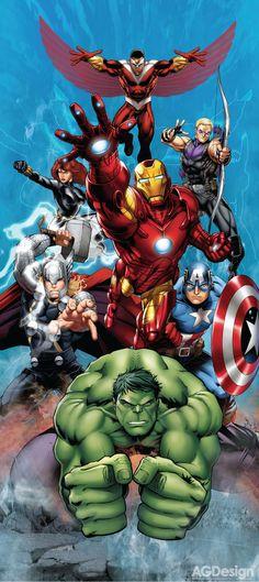 #Avengers #Fan #Art. (Avengers Show Case) By: Marvel. ÅWESOMENESS!!!™ ÅÅÅ+
