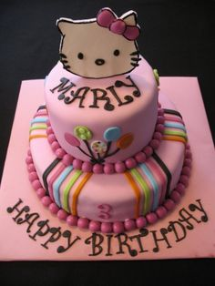 Hello Kitty Birthday Cakes