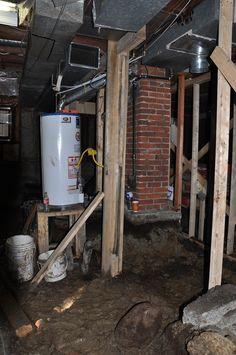 8 awesome basement underpinning images basement basements 2nd floor rh pinterest ca