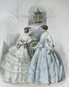 1853 Les modes Parisiennes