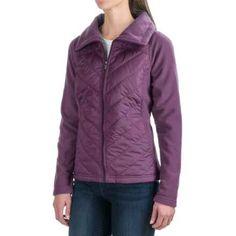 Columbia Sportswear Mix It Around Jacket - Full Zip (For Women) in Dusty Purple - Closeouts