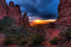 Sedona Sunset from Cathedral Butte Michael Wilson