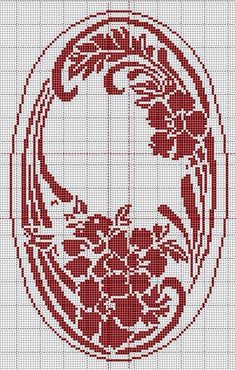 Best 11 Tereza Campos's 479 media details Cross Stitch Heart, Cross Stitch Flowers, Modern Cross Stitch Patterns, Cross Stitch Designs, Crochet Designs, Fair Isle Chart, Filet Crochet Charts, Crochet Home, Crochet Tutorials
