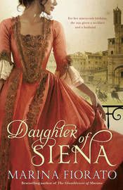 """I read this novel, """"The Daughter of Siena"""" a month ago. It is a historical fiction book, (which is my favorite genre of books). The book is set in the 1700s Italy and deals with a girl who is to be wed to an arrogant man who doesn't really love her. While this is going on people from different guilds of the city are planning a coup over  Siena. They plan to kill the governess and rule the city like in old times. The people who are forming the coup rely heavily on the horse race of Siena…"""