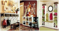 Entryway is a place that easy get cluttered with shoes, clothes and bags… Sprucing up...
