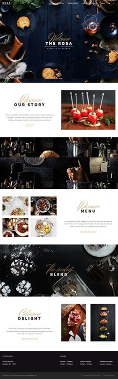 Rosa is Premium full Responsive WordPress theme for bar, cafe, restaurant... Retina Ready. Parallax Scrolling. WooCommerce.
