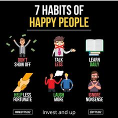 Are you happy with your life? Try these 6 habits - Like Entrepreneur Motivation, Business Motivation, Entrepreneur Quotes, Motivation Success, Success Mindset, Business Quotes, Self Development, Personal Development, Business Coach