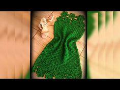 Vestido circulo vídeo 2 - YouTube Crochet Woman, Diy Crochet, Crochet Blouse, Crochet Bikini, Crochet Summer Dresses, Blouse Models, Crochet Videos, Knit Patterns, Crochet Clothes