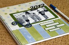 keep a memory journal- someplace to write down cute or funny things your kids do throughout the year. love it