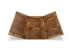 Atlantic Coffee Shop menu.