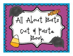 This book is a fun student reader and cut & paste book about bats!! Students read the story about bats. They cut and paste the pictures in the book to go with the text!Check out my Stellaluna Literature Unit!Stellaluna Common Core  Literature Study + Bat Extended Activities